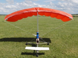 Windbag flexifoil electro